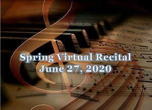 Spring Virtual Recital June 27, 2020