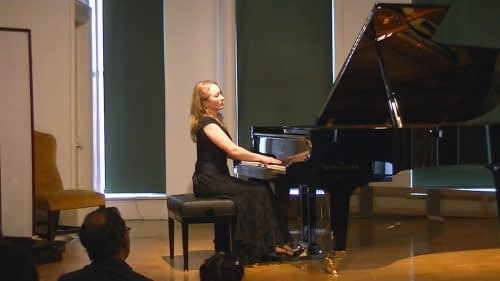 Recital at the Fine Arts Building, Chicago