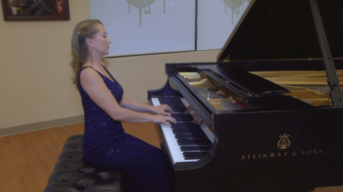 Recital at the Steinway Gallery, Northbrook